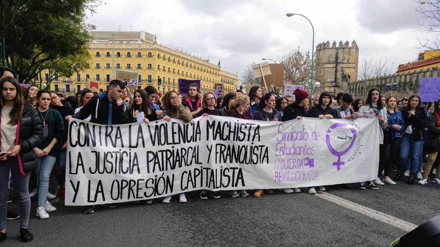 Manifestación estudiantil 8 de marzo