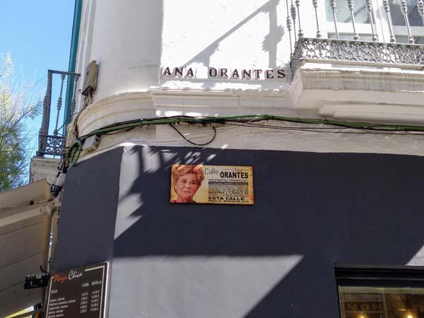 Imagen de la calle Ana Orantes