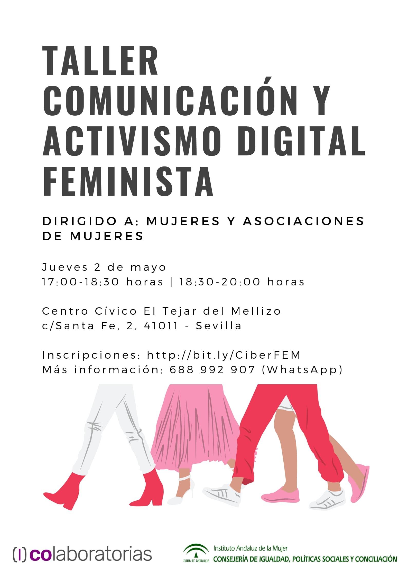 Taller activismo feminista Colaboratorias