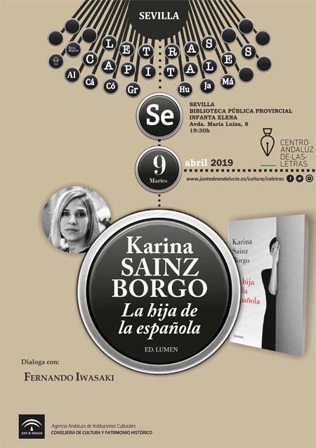 presentación libro Karina Sainz Borgo