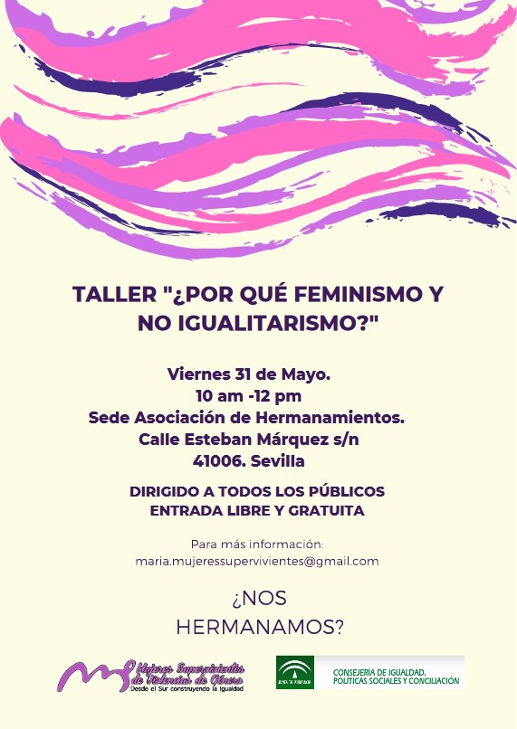 taller feminismo no igualitarismo