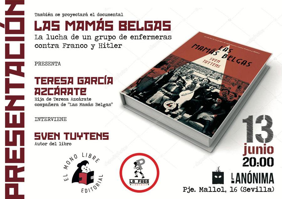 Presentación del libro las mamás belgas