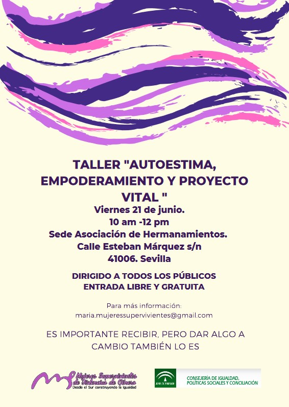 taller autoestima mujeres supervivientes
