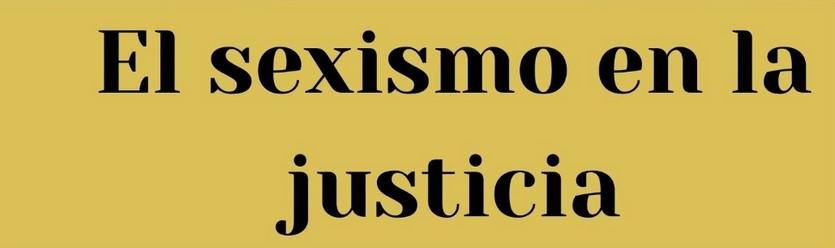 webinar sexismo en la justicia