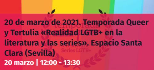 Realidad LGTB+ en la literatura y las series